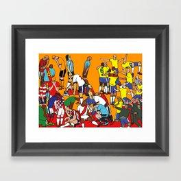 Endgame Framed Art Print