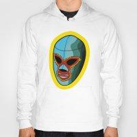 majoras mask Hoodies featuring mask by mark ashkenazi