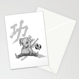 KungFu Zodiac - Pig Stationery Cards