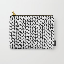 Hand Knitted Loops Carry-All Pouch