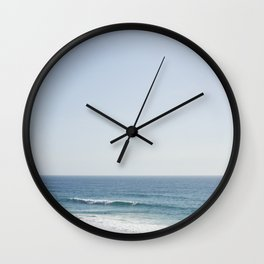 California Beach Day Wall Clock