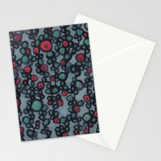 inky vines Stationery Cards