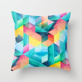 Reflections and Rainbows Throw Pillow