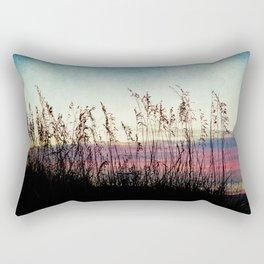 Sea Oat Sunrise Rectangular Pillow