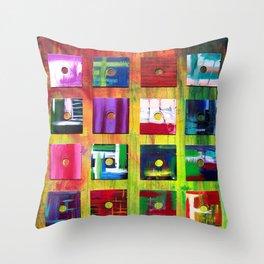 Floppy's Floppy's Floppy's Throw Pillow