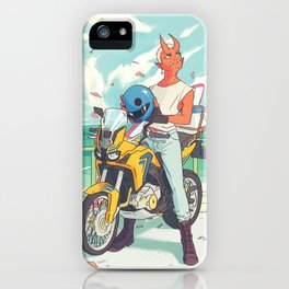 Sky Bike iPhone Case