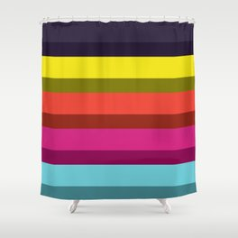 Accordion Fold Series Style I Shower Curtain
