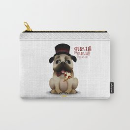 Mr. Puggy Carry-All Pouch