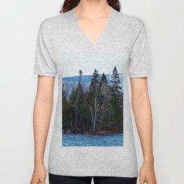 Blue Mountain River Unisex V-Neck