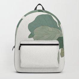 Rachel's Fiddle Leaf Backpack
