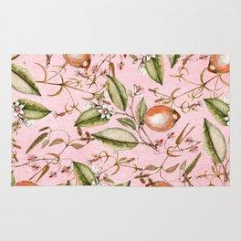 Lemons Pink Rug
