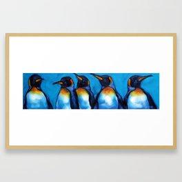 5 Kings Framed Art Print