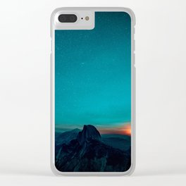 The Sunrises (Color) Clear iPhone Case