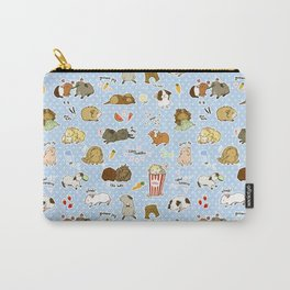 Guinea Pig Party! - Cavy Cuddles and Rodent Romance Carry-All Pouch