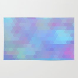 Color Vibe abstract geometric Rug