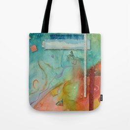 Outer World Tote Bag