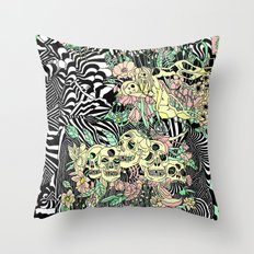 SPRING CYCLE Throw Pillow