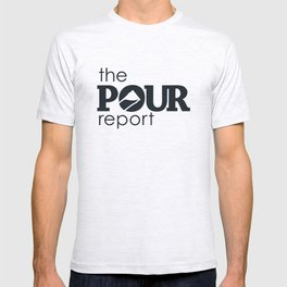 The Pour Report (Black) T-shirt