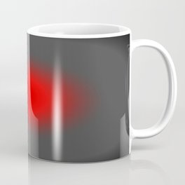 Red & Gray Focus Coffee Mug