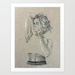Payton Art Print