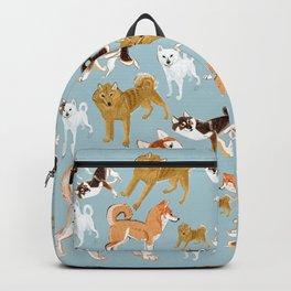 Japanese Dog Breeds Backpack