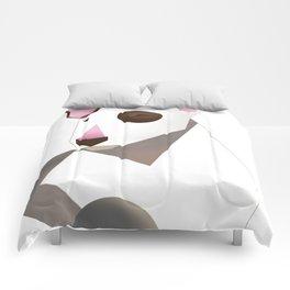 White bull terrier Comforters