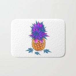 Cool Cannabis Pineapple Bath Mat