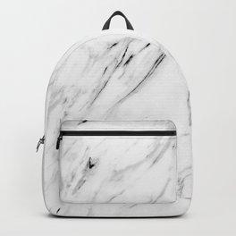 white marble II Backpack
