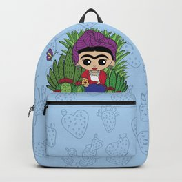 Frida in the Cacti 1 Backpack