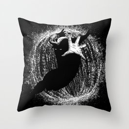 Help Will Come In The End Throw Pillow