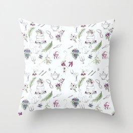 Bridal Shower Grace Throw Pillow
