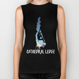 Vintage Cathedral Ledge Mountain Climbing Biker Tank