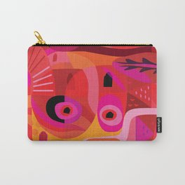 Rosa Mexicana Carry-All Pouch