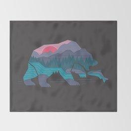 Bear Country Throw Blanket