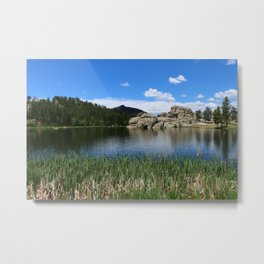 Sylvan Lake In The Black Hills Metal Print