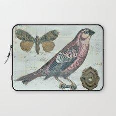 Vintage boho and bird Laptop Sleeve