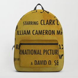 Gone with the... cast & crew Backpack