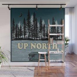 Up North at Night Wall Mural