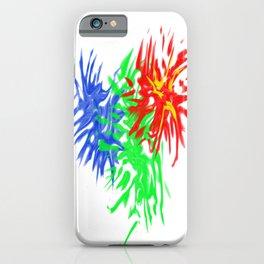 Splashing Colours iPhone Case