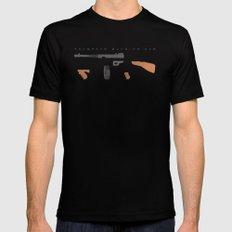 Thompson Machine Gun MEDIUM Black Mens Fitted Tee