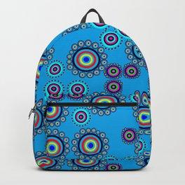Bullseye Blue Backpack