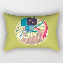 Go Go Mecha Kitty Rectangular Pillow