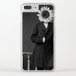 Smart Sunflower.1885. Clear iPhone Case