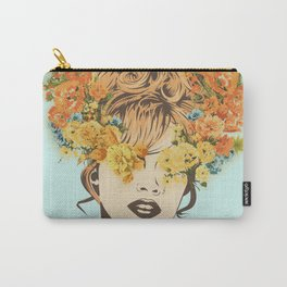Tropical Lady Carry-All Pouch