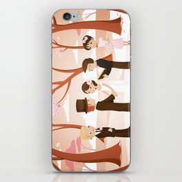 Wedding scene iPhone Skin