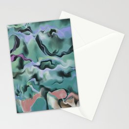 Waves In Harmony Stationery Cards