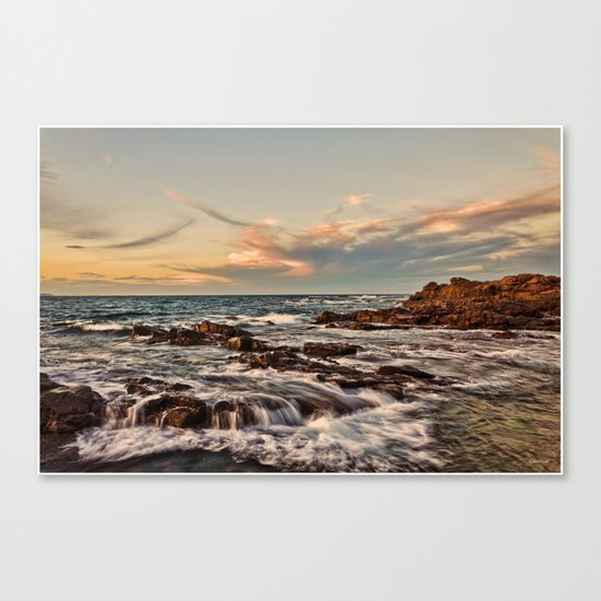 Bass point sunset  Canvas Print