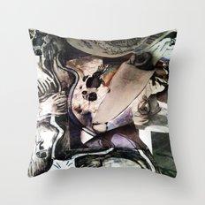 Sea MAsh Throw Pillow