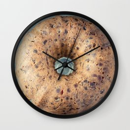 Christmas Fruit Cake Square Format Wall Clock