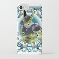 dragonball z iPhone & iPod Cases featuring DragonBall Z - Android House by Art of Mike